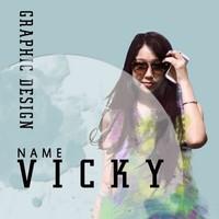 vicky含含