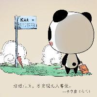 安安静静的熊猫