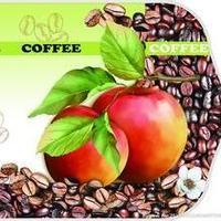 苹果加咖啡
