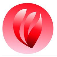 负炎logo