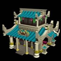 专业制作3D模型