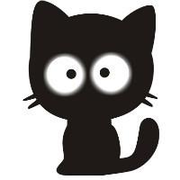 外包小黑猫
