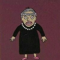 可爱又迷人的反派老太婆