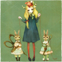 三月里的兔子