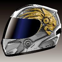 头盔水纸设计
