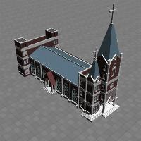 莫高3D建筑建模