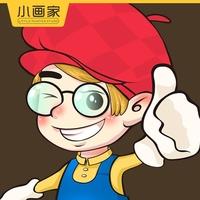 小画家卡通漫画文化创意