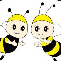 快乐的两只小蜜蜂