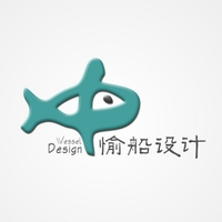 公司企业餐饮LOGO设计-愉船品牌设计