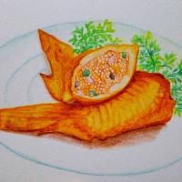 菜单手绘设计