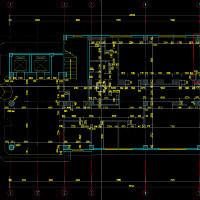 工装 家装CAD平面图施工图设计