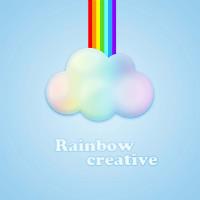 Rainbow creative