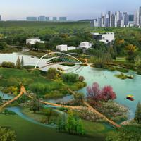 伶知园林景观效果方案制作